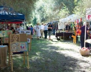 View of Arts in Olvies Festival
